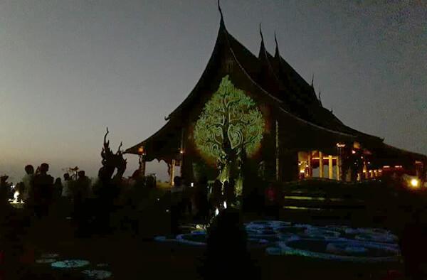 ต้นกัลปพฤกษ์เรืองแสง